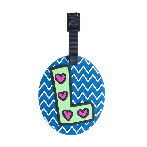 Letter Luggage Tags - L - globite