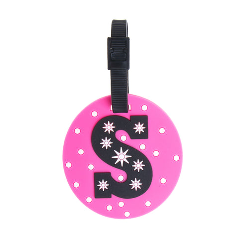 Letter Luggage Tags - S - globite