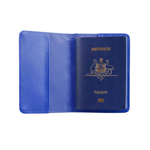 RFID Blocking Passport Cover - Royal - globitetravel