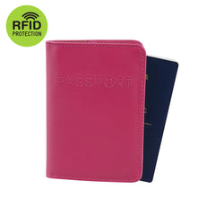 RFID Blocking Passport Cover - Pink - globitetravel