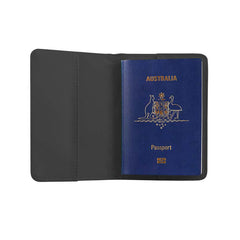 RFID Blocking Passport Cover - Black - globitetravel