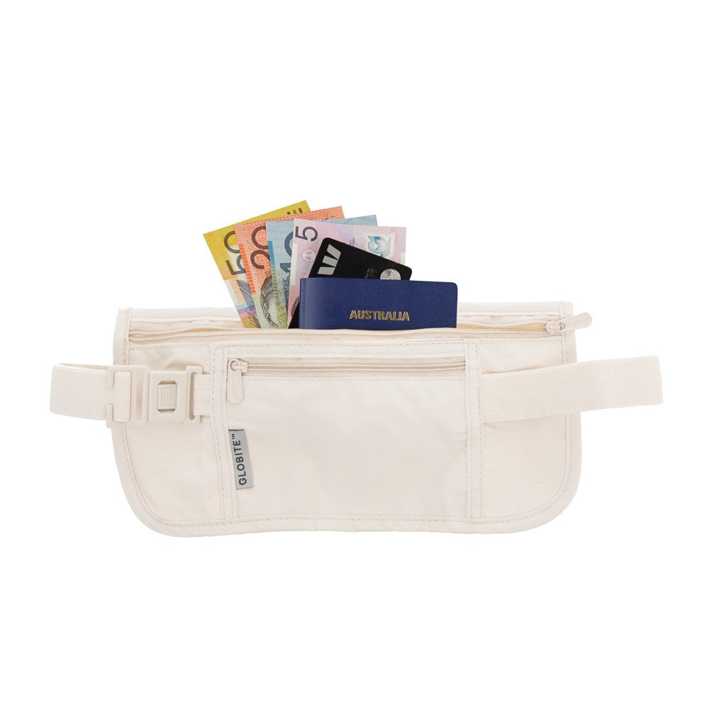 Security Money Belt - Nude - globitetravel