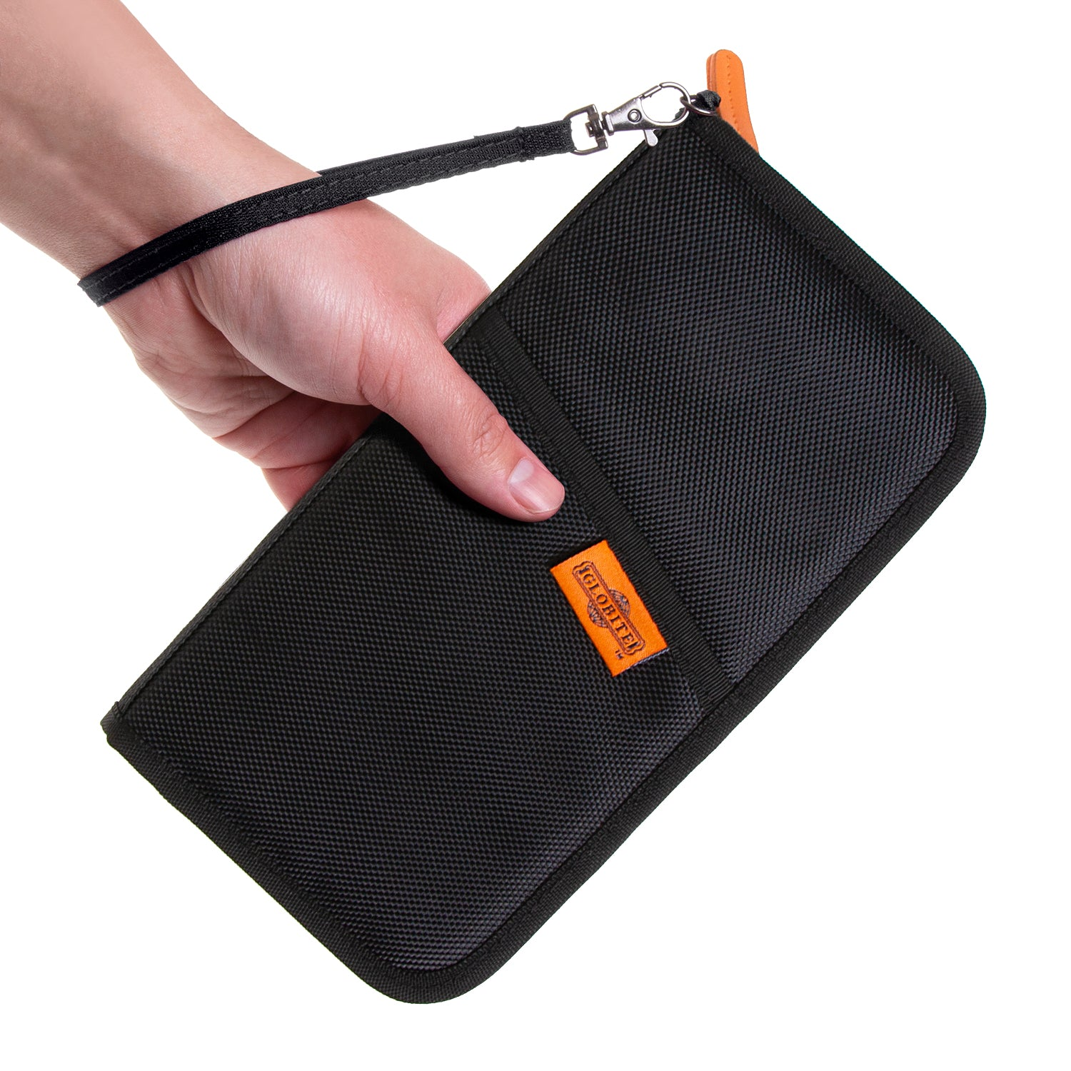 RFID Travel Wallet - Black - globite