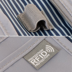 RFID Travel Wallet - Navy - globitetravel