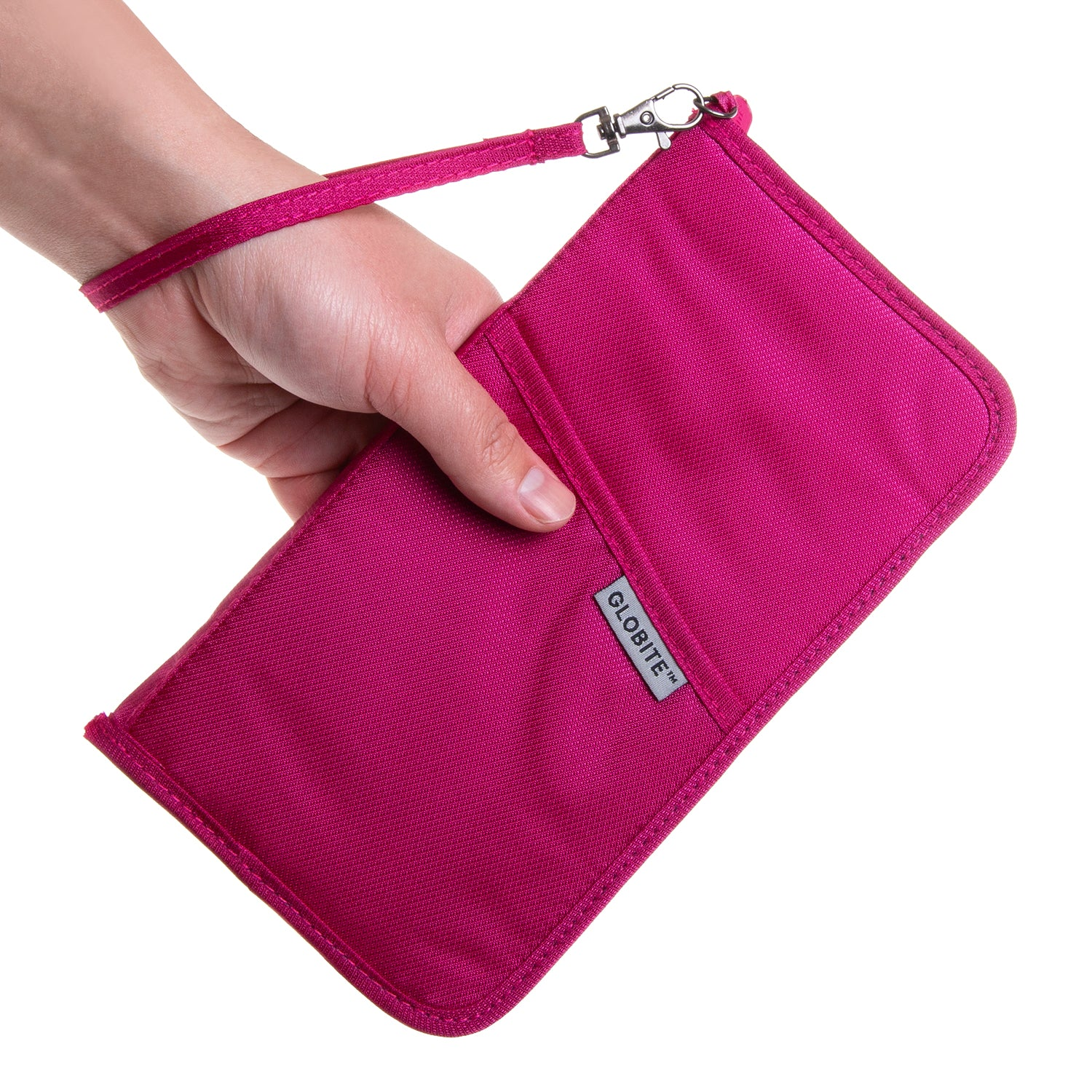 RFID Travel Wallet - Pink
