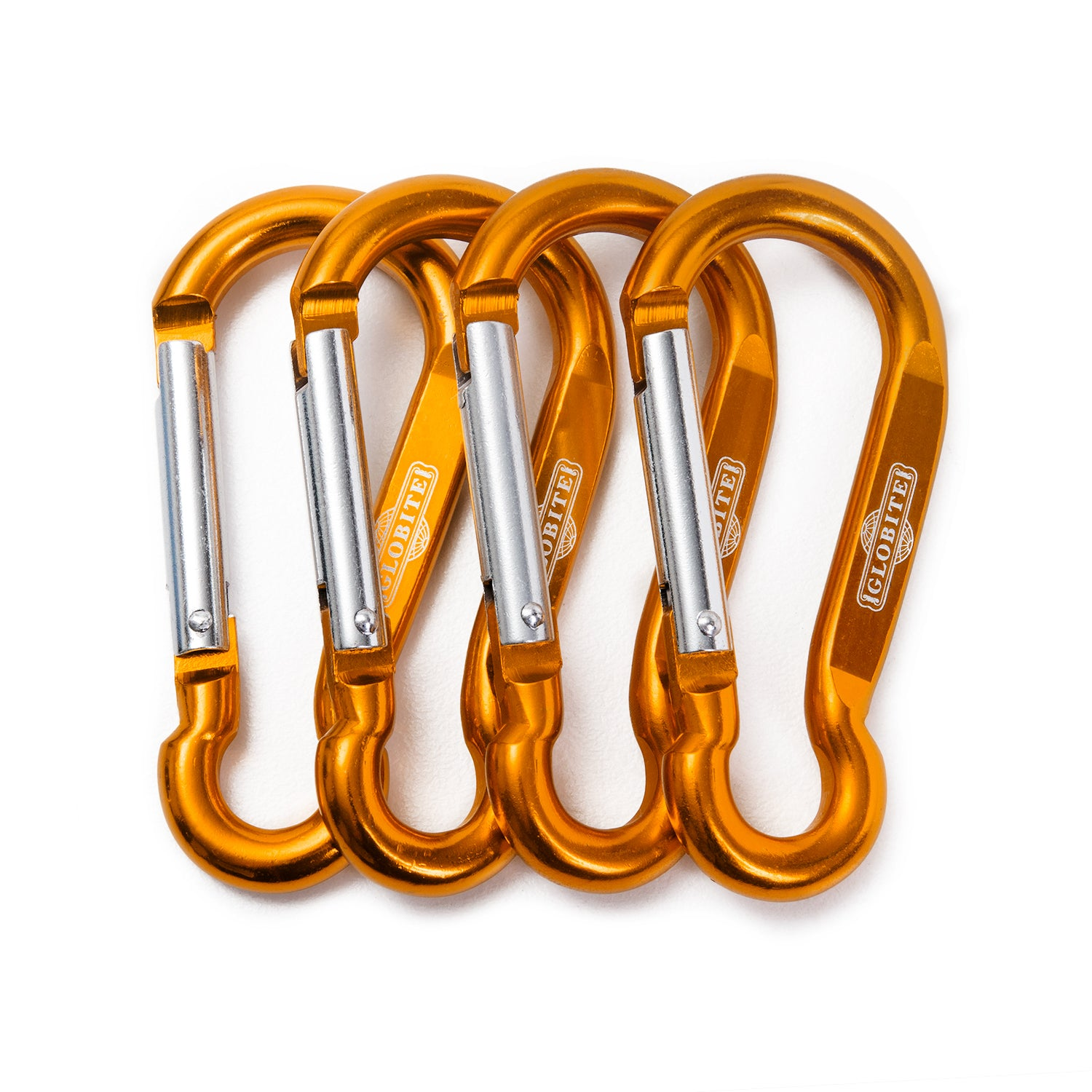 Multi-Purpose Carabiners 4 Pack - globite