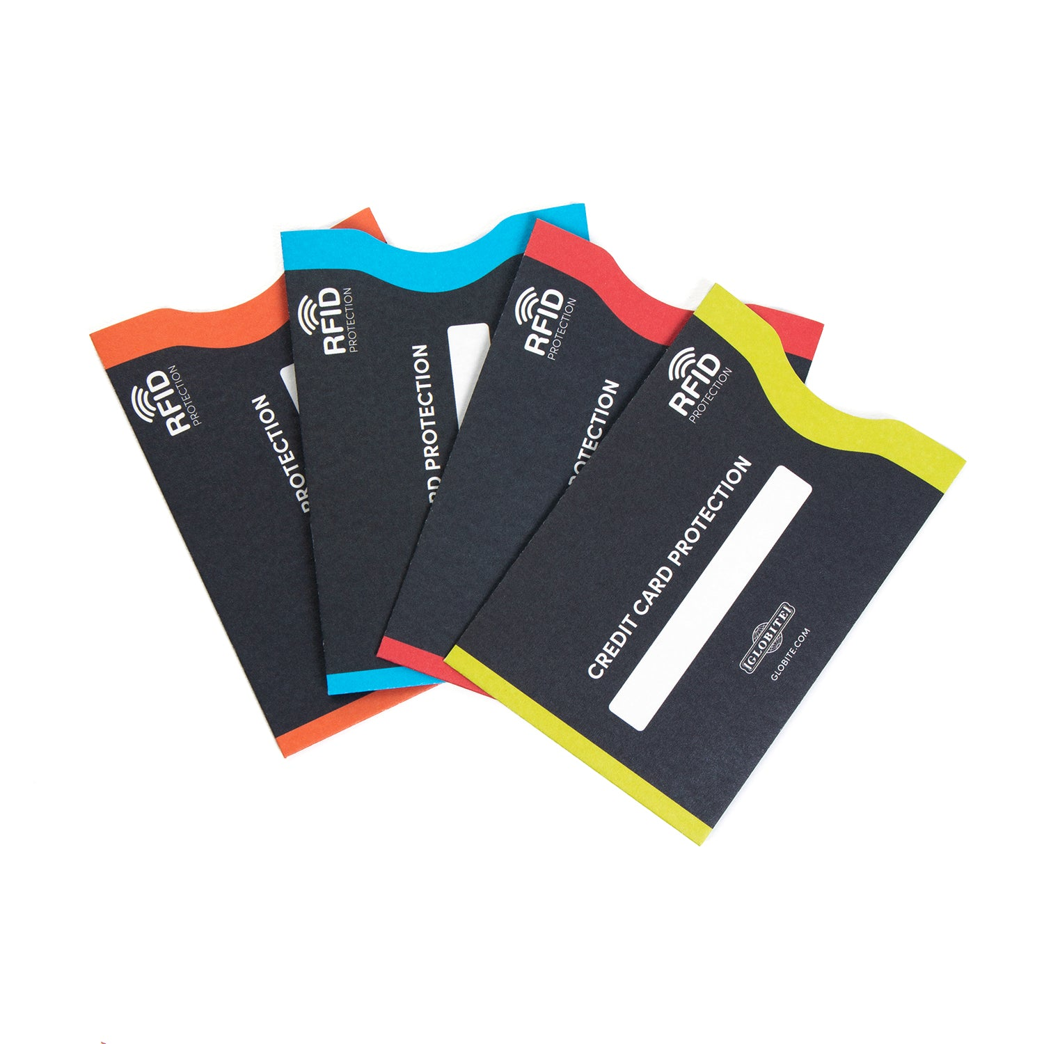RFID Blocking Credit Card Protector 4pk - globite