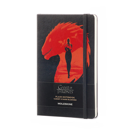 Game of Thrones Limited Edition Notebook, Large, Plain, Black