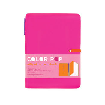 COLOR POP NOTE BOOK - HOT PINK