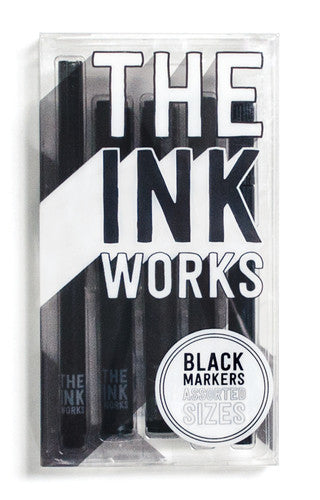 THE INK WORKS MARKERS-SET OF 5 (130-036)