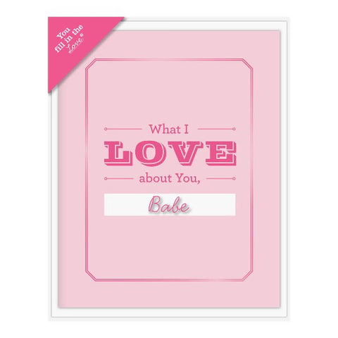 What I Love About You Fill in the Love® Card Booklet