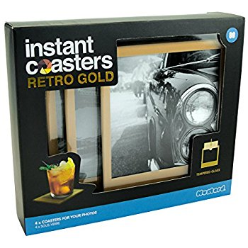 INSTANT COASTER RETRO GOLD 4 PACK SET (M15021)