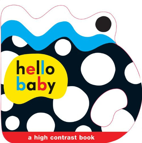 Hello Baby Shaped Grip Book