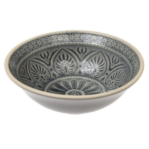MARRAKESH MEZZE BOWL GREY (26699)