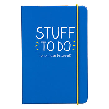 A6 NOTEBOOKS-STUFF TO DO (HAP458)