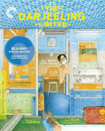 Criterion Collection : Darjeeling Limited (Blu Ray)