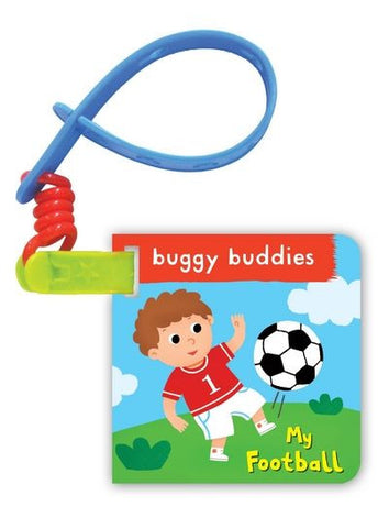 My Football Buggy Buddy: A Crinkly Cloth Book for Babies!
