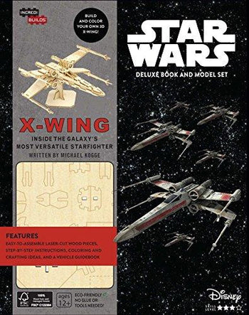 IncrediBuilds: Star Wars: X-Wing Deluxe Book and Model Set