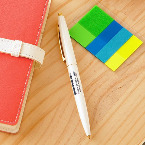 KNOCK BALL POINT PEN WHITE