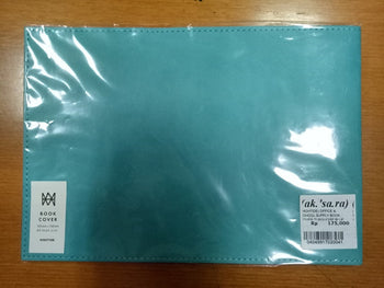 OFFICE & SCHOOL SUPPLY BOOK COVER TURQUOISE BLUE