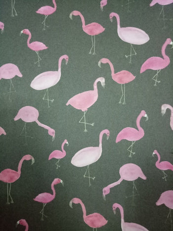 FLAMINGOS HALF SHEETS (44386250B)