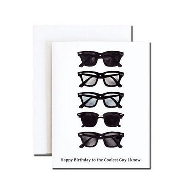 COOLEST GUY BIRTHDAY CARD