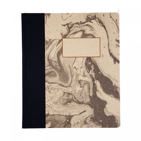 A5ISH QUARTERBOUND NOTEBOOK MARBLING (AW-18Q-001)