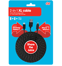 2-in-1 XL CABLE COMBO