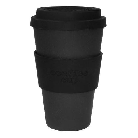 14OZ BLACKOUT WITH BLACK SILICONE