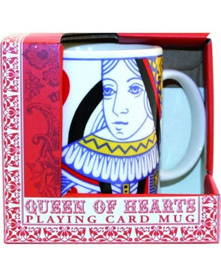 PLAYING CARDS QUEEN MUG (GR340003)
