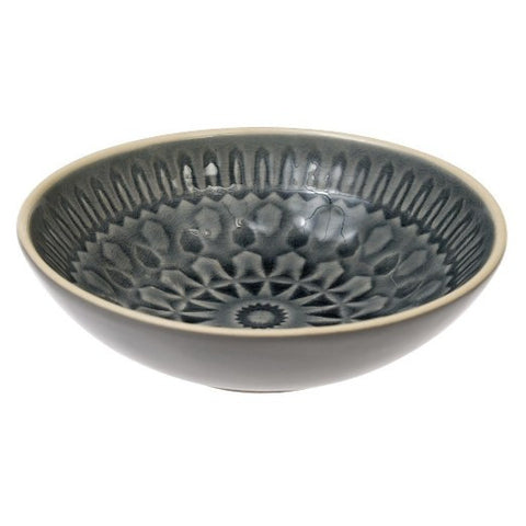 MARRAKESH DISH GREY (26696)