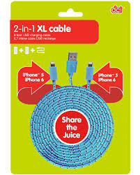 2-IN-1 XL CABLE IPHONE (54946)
