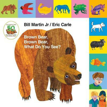Lift-the-Tab: Brown Bear, Brown Bear, What Do You See?