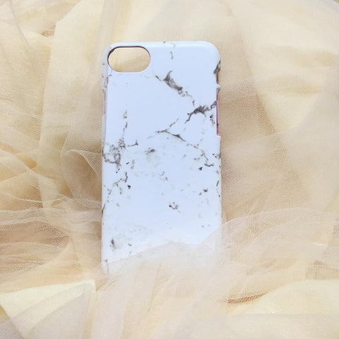 IPHONE CASE 7 WHITE MARBLE