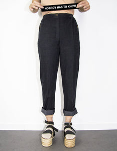 P+C - DENIM SLIM FIT TROUSERS - NOBODY HAS TO KNOW