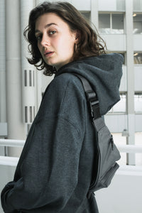 Bum bag graphite grey [drop] - NOBODY HAS TO KNOW