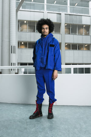 Straight cut royal blue pants [essential] - NOBODY HAS TO KNOW