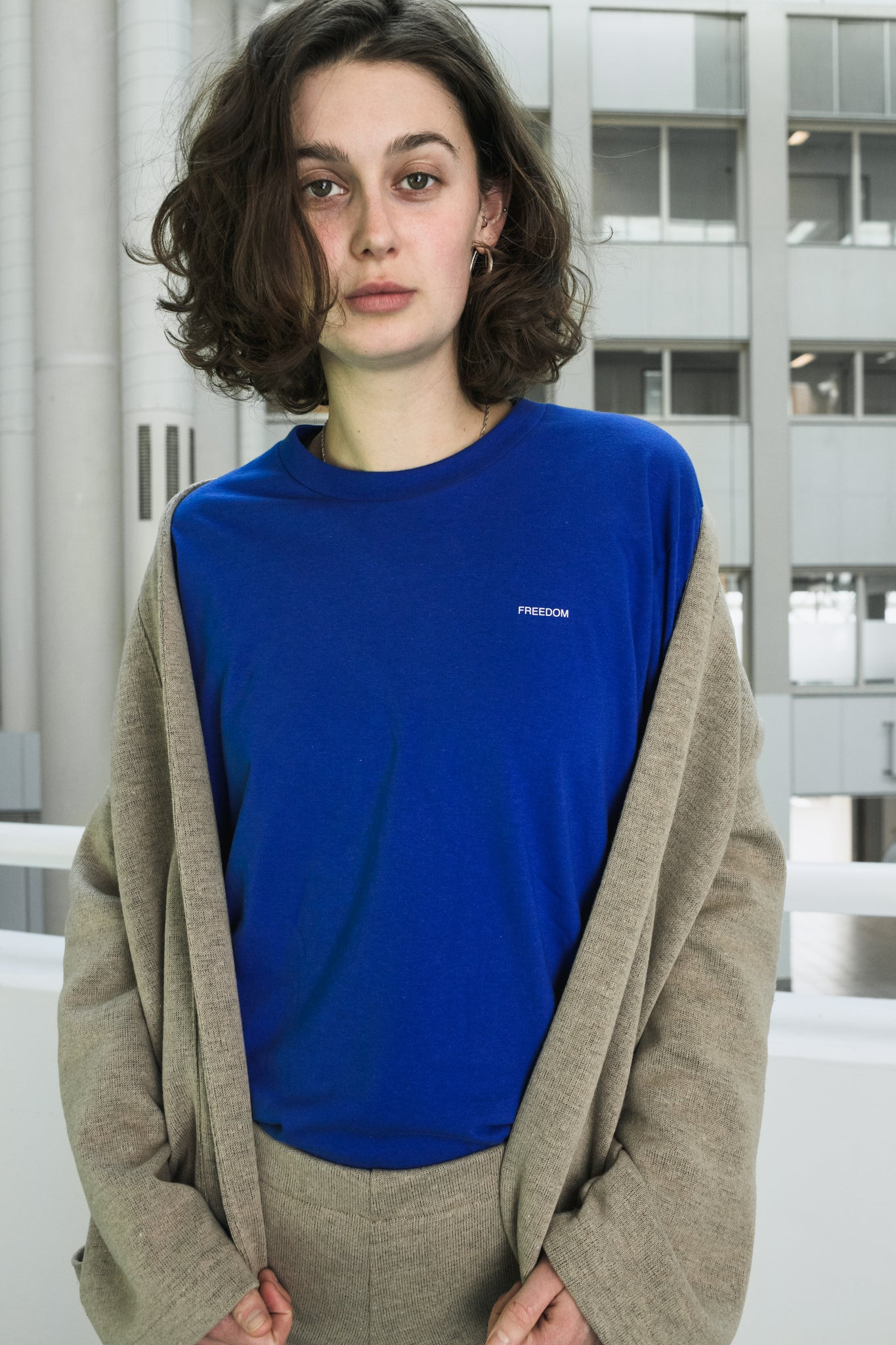 "Royal Blue tee ""Freedom"" [drop] - NOBODY HAS TO KNOW"