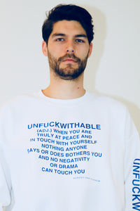 THE UNFUCKWITHABLES white 5 - NOBODY HAS TO KNOW