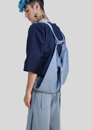 THE UNCUT - DENIM BACKPACK - NOBODY HAS TO KNOW