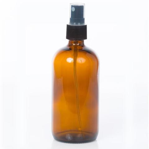 8 oz Glass Spray Bottle - 2 Closures Available - Oil Life