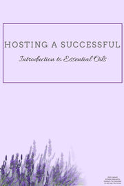 Essential Oil Class Hostess Packet - Download