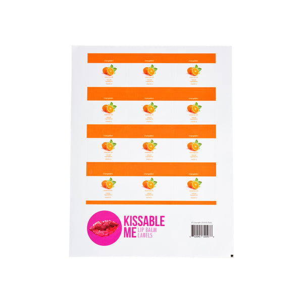 Kissable Me Label OrangeMint