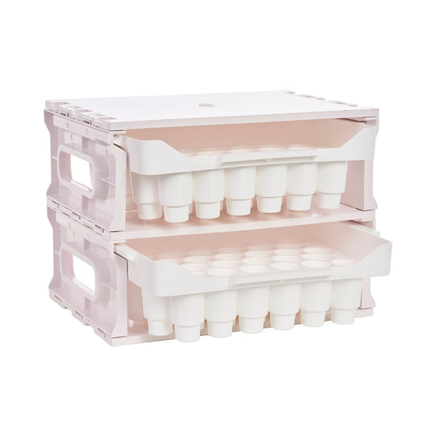 Acrylic Stackable Essential Oil Tray (2pk)