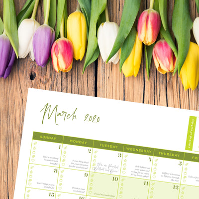 FREE March 2020 Calendar Download - Oil Life