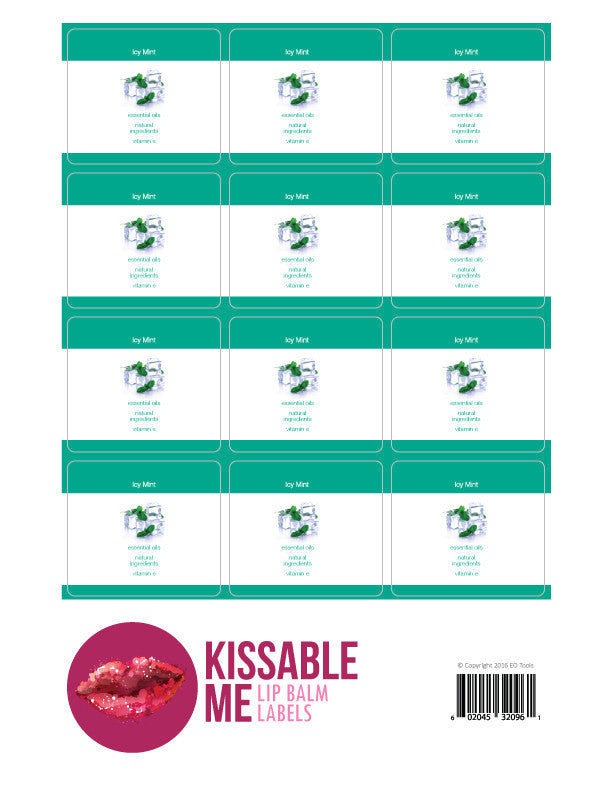 Kissable Me Label Icy Mint