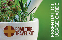 Road Trip Travel Kit Usage Cards