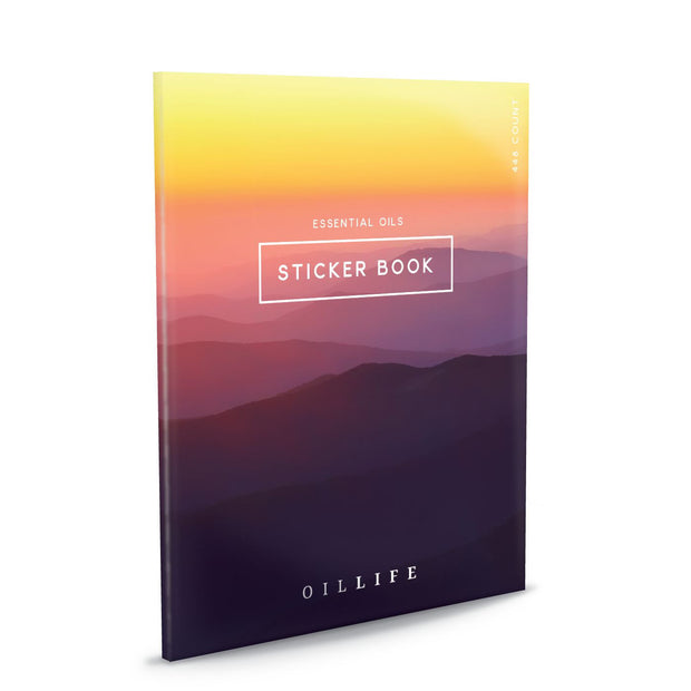Oil Life Sticker Book