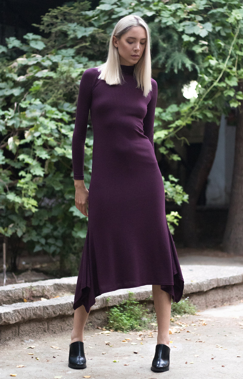 Bareback knit dress - BastetNoir