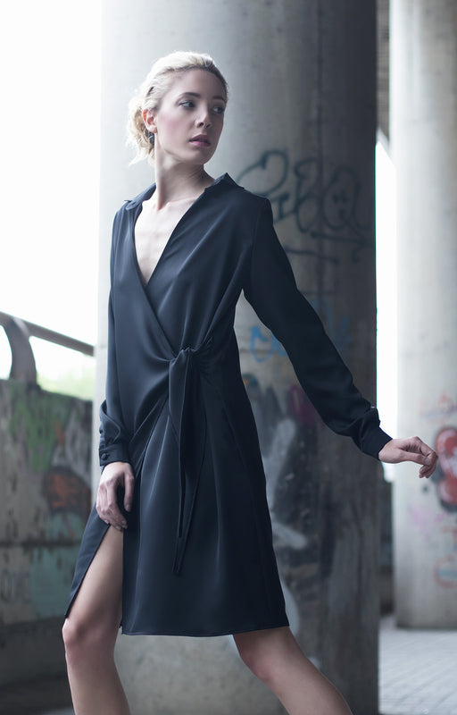 Short shirt dress - BastetNoir